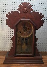 Ingraham Kitchen Gingerbread Parlor Mantle Clock With Alarm