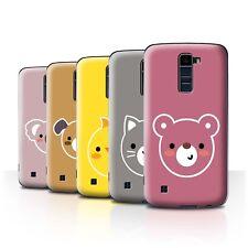 STUFF4 Back Case/Cover/Skin for LG K8/K350N/Phoenix 2/Cute Minimalist Animals
