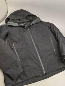 Mens Patagonia Primo Down Jacket Gore Tex Black Sz S