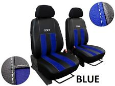 MERCEDES SPRINTER 1+1 FROM 2006 ECO LEATHER & ALCANTRA SEAT COVERS TAILORED