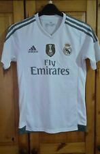 ADIDAS Real Madrid Home Jersey 2014 FIFA World Champions Calcio in camicia