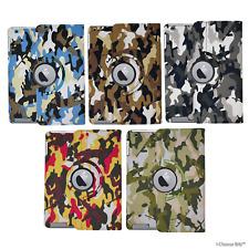360° Tournant Camouflage Coque/Étui Pour Apple iPad 2/3/4 / Flip Folio / PU Cuir