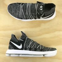 2f1924d201a5 Nike Zoom KD 10 Black White Oreo Durant Basketball Shoes 897815 001 Size 10