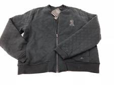 Harley-Davidson® Women's Black Slim Fit Quilted Bomber Jacket Coat 97415-17VW XL