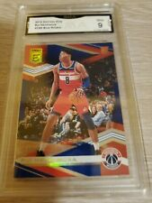 2019-20 Donruss Elite Rui Hachimura Blue Parallel RC #d 57/99 GMA MINT 9