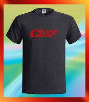 Crane Cams Logo Retro Style Racing Vintage Men's Black T-Shirt S M L XL 2XL 3XL