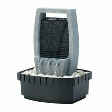 Indoor Tabletop Fountain with Classic Cascade Wall Design
