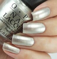 OPI Coca ~CENTENNIAL CELEBRATION~ Shimmery Pewter Silver Nail Polish Lacquer C94