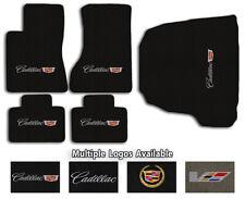 Cadillac Cars - 5pc Velourtex Carpet Floor Mat Set - Choose Color & Logo