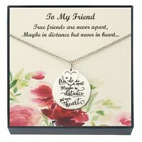 Friendship Pendant Necklace, BFF Soul Sister Necklace, Friendship Gifts