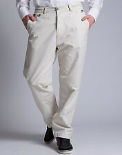 """Diesel Mens PUPH02 29"""" Natural Chino Pants BNWT Golf s Trousers Jeans RRP £190"""