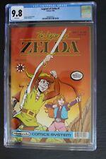 LEGEND OF ZELDA #1 Valiant Nintendo 1990 $1.95-c Comics 1st Print CGC NMMT 9.8