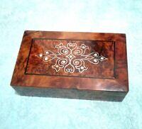 wooden box jewelry box wooden thuya handmade new box  gift jewelry box handmade