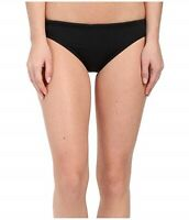 TYR 148461 Solids Active Bikini Bottom Black Women's Swimwear Size Medium