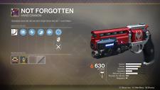 Not Forgotten Destiny 2 0-5500 Glory Points Boost Destiny 2 (PS4/PC/XBOX) Fast
