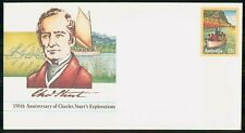Mayfairstamps AUSTRALIA FDC COVER CHARLES STURTS STAMPED wwm17107