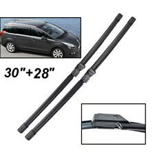 2PCS/Set Front Windshield Wiper Blades Fit For Peugeot 5008 2016 2015 2014 13->