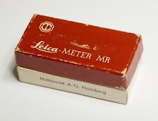 Vintage Leitz Leica M Empty Box for Leica Meter MR