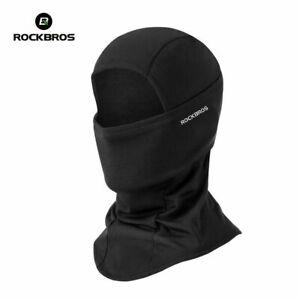ROCKBROS Winter Face Mask Fleece Warm Cycling Headgear Outdoor Sports Full Cap