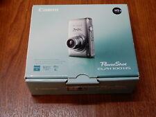 NEW Open Box - Canon PowerShot ELPH 100 HS 12.1MP Camera - GRAY - 013803132052