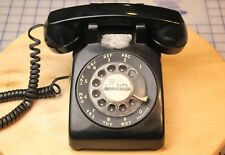 Western Electric Rotary Dial Desk Telephone Bell Systems Black Model 500