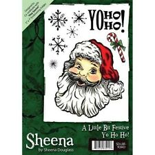 Sheena Douglass YO HO HO! Rubber Stamp