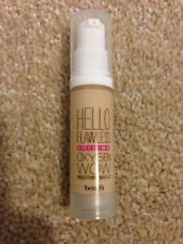 Benefit Hello Flawless Oxygen Wow Ivory Travel Size Foundation 7ml Free PP
