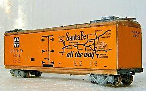 """Varney Box Car Ice Reefer """"Wood sided"""" Rd# SFRD 16142 - Built Kit - Vintage - HO"""
