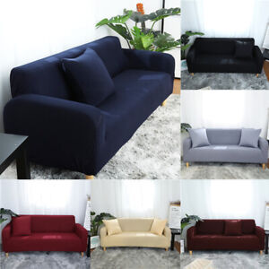 1/2/3/4Seater Lazy Sofa Cover Universal Cover Simple L-shaped Chaise Cover