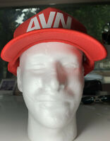 AVN Adult Entertainment Expo Convention Las Vegas Snapback Mesh Trucker Red Hat