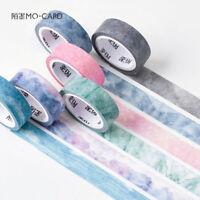 7M DIY Natural Washi Sticker Roll Paper Masking Adhesive Tape Craft Decor Gifts