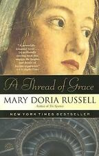 A THREAD OF GRACE by Mary Doria Russell FREE SHIPPING paperback book WWII italy