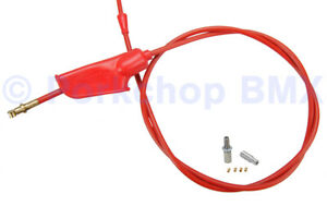 Terry Cable old school BMX bicycle brake cable 6mm - RED (MADE IN USA)