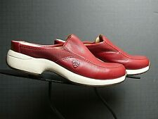 Women's ARIAT Red Leather Mule Sz. 6M NWOB