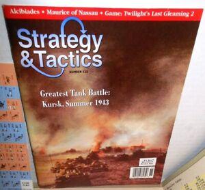 Strategy & Tactics Mag w/Game #225 Twilight's Last Gleaming 2 UNP 3 Battles