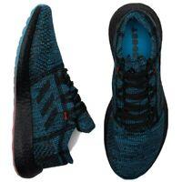 Adidas PureBOOST Go LTD 'Black Shock Cyan' Running Shoes Men's Size 11