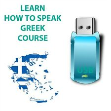 Learn How to Speak GREEK Language USB while in car any mp3