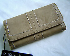 Fritzi aus Preußen Ladies Briefcase, Purse, Wallet Kristy Color Taupe