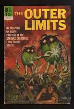"""1964 1st  ISSUE  """" THE OUTER LIMITS """"   DELL  COMIC BOOK  COMPLETE ORIG."""
