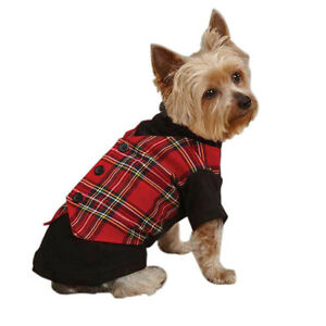 East Side Collection TARTAN HOLIDAY VEST Dog Vest XXS-M Holiday Perfect