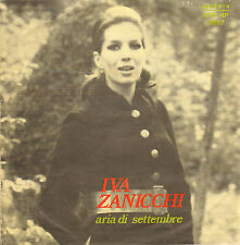 """IVA ZANICCHI - Aria di Settembre (1970 VINYL SINGLE 7"""" SAN REMO)"""
