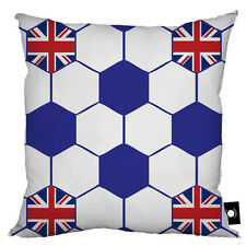 Kids Filled Scatter Cushion 18 Childrens Bedroom Pillow Blue Football Union Jack