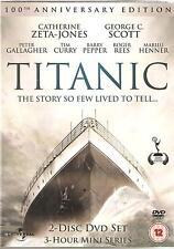 TITANIC CATHERINE ZETA-JONES & GEORGE C. SCOTT - 100TH ANNIVERSARY EDITION 2 DVD