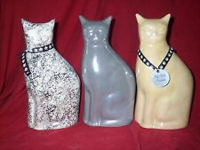 cat/pet urns cremation/memoria/Ashes/Modern Cat with name plate