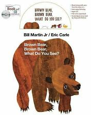 Brown Bear Book and CD Storytime Set by Bill, Jr. Martin (2013, Mixed Media,...