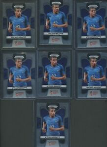 Investor Lot (7) 2018 Panini Prizm World Cup Soccer #80 Kylian Mbappe RC Rookie