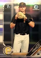 2019 BOWMAN CHROME DRAFT - REFRACTOR - PROSPECT - JARED TRIOLO