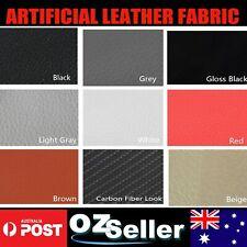 Faux Leather Fabric Vinyl Marine Auto Home Reupholstery Furniture Multi Purpose