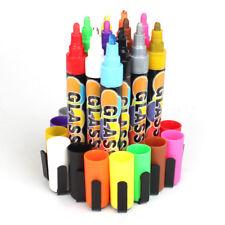 Chalk Markers fit Whiteboard, Blackboard, Window, Glass - Wet Wipe Erasable