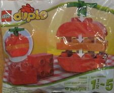 Lego 30068 Duplo Food Big Red Apple and Kids Go Free Lego land Coupon NEW